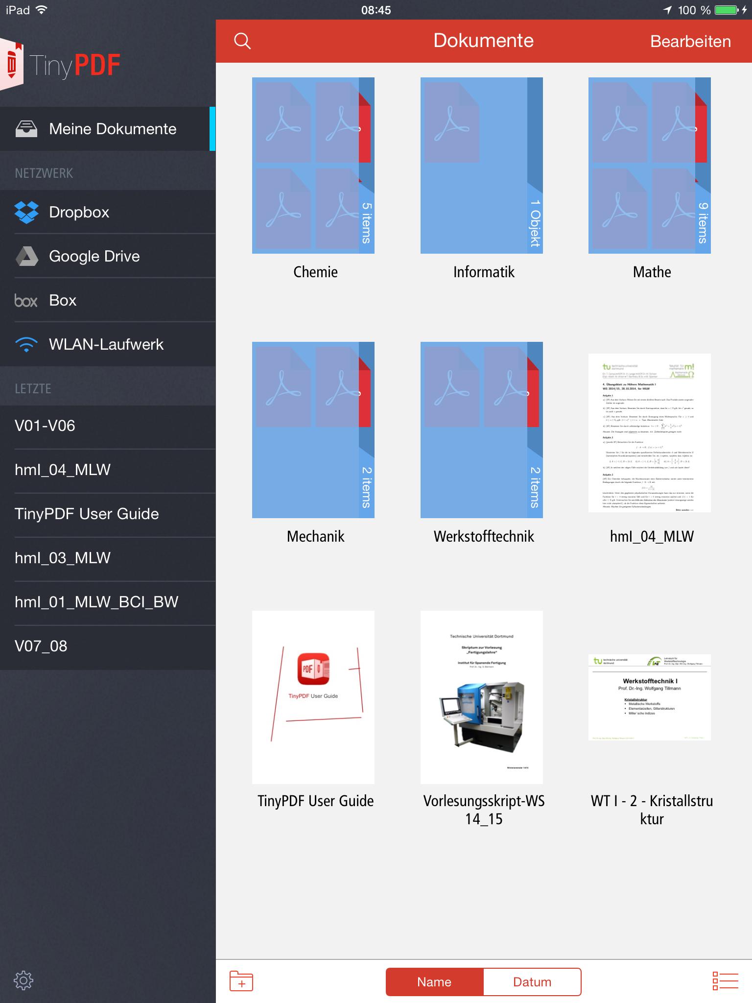 App Vergleich: Welcher PDF Bearbeitungs-App besteht den Uni Test ...