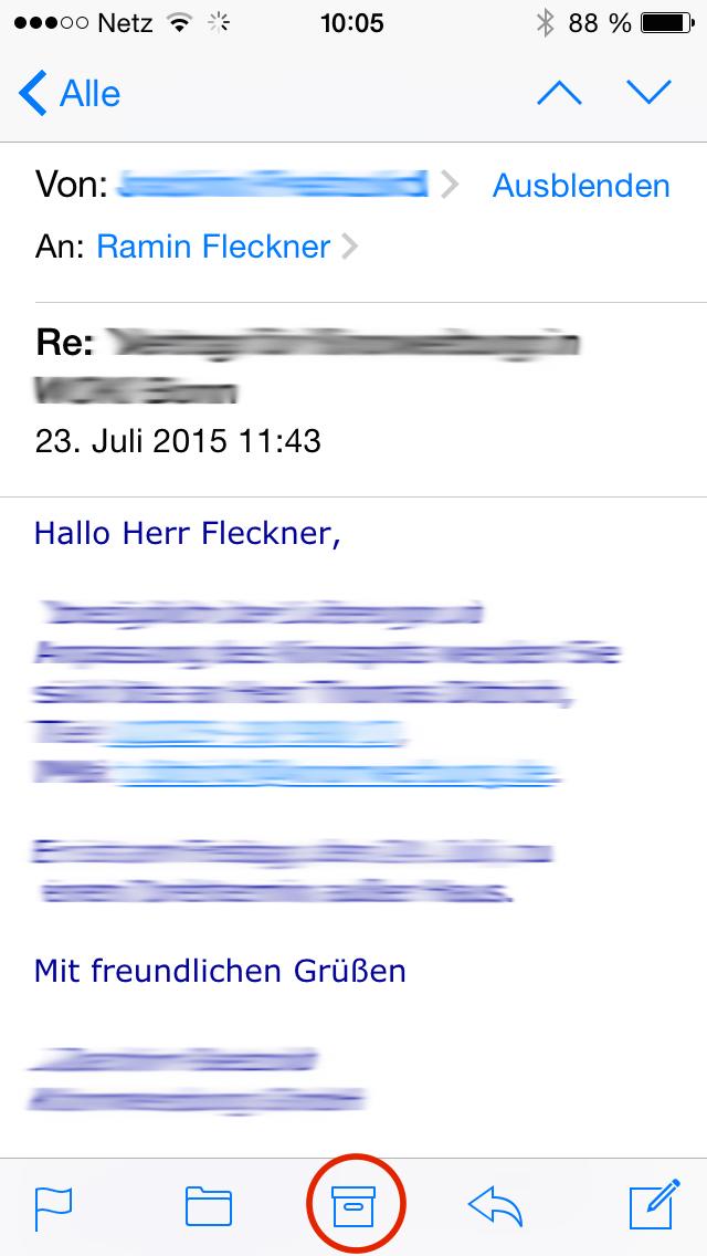 Gmail Iphone Löschen Statt Archivieren